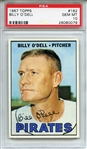 1967 Topps 162 Billy ODell PSA GEM MT 10