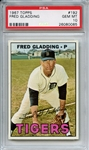 1967 Topps 192 Fred Gladding PSA GEM MT 10