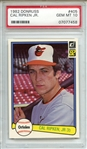 1982 Donruss 405 Cal Ripken RC PSA GEM MT 10