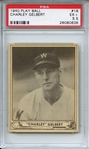 1940 Play Ball 18 Charley Gelbert PSA EX+ 5.5