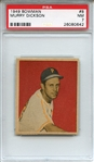 1949 Bowman 8 Murry Dickson PSA NM 7