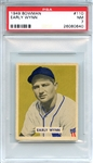 1949 Bowman 110 Early Wynn RC PSA NM 7
