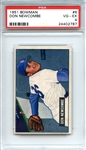 1951 Bowman 6 Don Newcombe PSA VG-EX 4