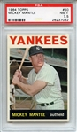 1964 TOPPS 50 MICKEY MANTLE PSA NM+ 7.5
