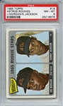 1965 TOPPS 16 ASTROS ROOKIES JOE MORGAN RC PSA NM-MT 8