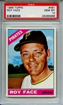 1966 TOPPS 461 ROY FACE PSA GEM MT 10