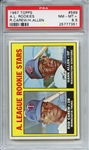 1967 TOPPS 569 ROD CAREW RC PSA NM-MT+ 8.5