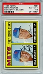 1967 TOPPS 581 TOM SEAVER RC PSA EX-MT+ 6.5