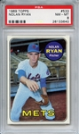 1969 TOPPS 533 NOLAN RYAN PSA NM-MT 8