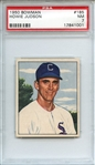 1950 BOWMAN 185 HOWIE JUDSON WITHOUT COPYRIGHT PSA NM 7