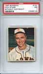 1950 BOWMAN 191 DICK STARR WITHOUT COPYRIGHT PSA NM 7