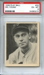 1939 PLAY BALL 33 DEL YOUNG PSA EX-MT 6