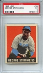 1948 LEAF 95 GEORGE STIRNWEISS PSA EX 5
