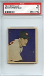 1949 BOWMAN 3 BOB PORTERFIELD PSA NM 7