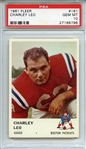 1961 FLEER 181 CHARLEY LEO PSA GEM MT 10