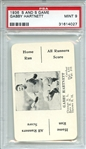 1936 S AND S GAME GABBY HARTNETT PSA MINT 9