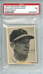 1940 CINCINNATI REDS TEAM ISSUE WILLIAM B.McKECHNIE TEAM ISSUE PSA NM 7