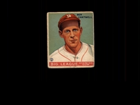 1933 Goudey 139 Ben Cantwell RC VG #D508363