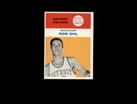 1961 Fleer 33 Don Ohl RC NM #D540365