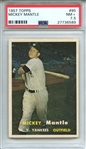 1957 TOPPS 95 MICKEY MANTLE PSA NM+ 7.5
