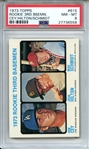 1973 TOPPS 615 MIKE SCHMIDT RC PSA NM-MT 8