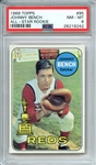 1969 TOPPS 95 JOHNNY BENCH ALL-STAR ROOKIE PSA NM-MT 8
