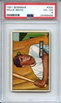 1951 BOWMAN 305 WILLIE MAYS RC PSA VG-EX 4