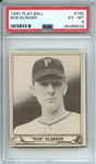 1940 PLAY BALL 165 BOB KLINGER PSA EX-MT 6