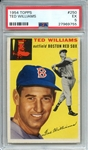 1954 TOPPS 250 TED WILLIAMS PSA EX 5