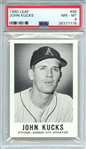 1960 LEAF 96 JOHN KUCKS PSA NM-MT 8