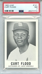 1960 LEAF 141 CURT FLOOD PSA NM 7