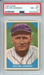 1960 FLEER 6 WALTER JOHNSON PSA NM-MT 8