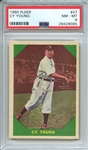 1960 FLEER 47 CY YOUNG PSA NM-MT 8