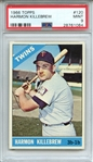 1966 TOPPS 120 HARMON KILLEBREW PSA MINT 9