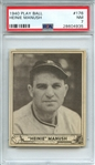 1940 PLAY BALL 176 HEINIE MANUSH PSA NM 7