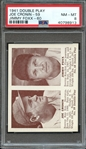 1941 DOUBLE PLAY JOE CRONIN-59 JIMMY FOXX-60 PSA NM-MT 8