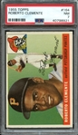 1955 TOPPS 164 ROBERTO CLEMENTE RC PSA NM 7