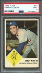 1963 FLEER 42 SANDY KOUFAX PSA MINT 9