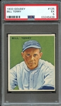 1933 GOUDEY 125 BILL TERRY PSA EX 5
