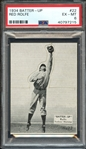1934 BATTER-UP 22 RED ROLFE PSA EX-MT 6