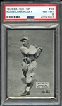 1934 BATTER-UP 44 ADAM COMOROSKY PSA NM-MT 8