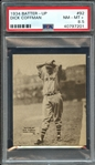 1934 BATTER-UP 92 DICK COFFMAN PSA NM-MT+ 8.5