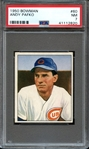 1950 BOWMAN 60 ANDY PAFKO PSA NM 7