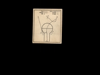 1948 Bowman 29 Basketball Play/Double post VG-EX #D756621