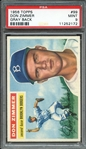 1956 TOPPS 99 DON ZIMMER GRAY BACK PSA MINT 9