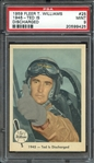 1959 FLEER TED WILLIAMS 25 1945-TED IS DISCHARGED PSA MINT 9