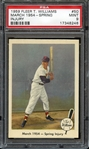 1959 FLEER TED WILLIAMS 50 MARCH 1954-SPRING INJURY PSA MINT 9