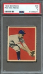 1949 BOWMAN 36 PEE WEE REESE PSA EX 5