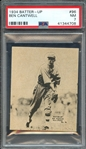 1934 BATTER-UP 96 BEN CANTWELL PSA NM 7