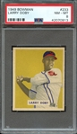 1949 BOWMAN 233 LARRY DOBY RC PSA NM-MT 8
